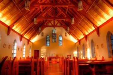 Shrine of St. Therese church by spoox