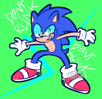 sonic or something by HedgieMuffins