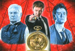 Doctor Who - The Master by caldwellart