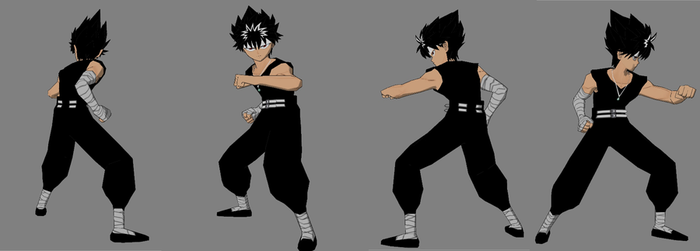 hiei reference sheet 1 yyhf by GAME-ART-EDITED-ART