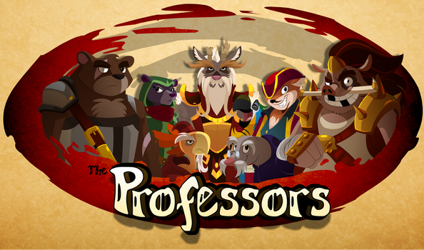 True Tail Professors by SkynamicStudios
