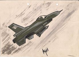 F-16 by AyanHasan