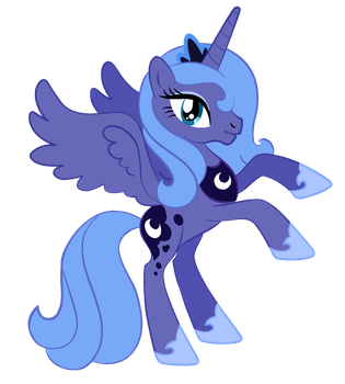 Princess Luna by Fluttershy1982