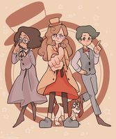 Lady Layton! by AkaDaifuku