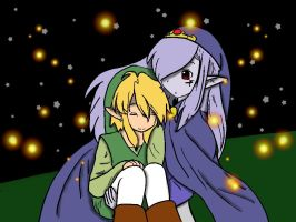 link and vaati colored by 11newells