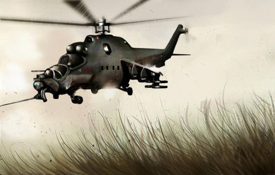 Helicopter by OleZ-2010
