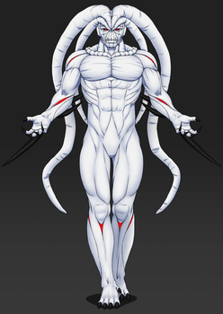The Fleshmaker Empowered, Xeenath (form 2) by LordWolx