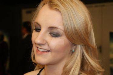 Evanna Lynch and her smile by niamor-prod