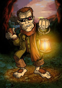 Terminator Hobbit Color by kikmyhiney