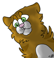 Cartoon Cat Icon by TheFallenWhisper