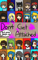 Don't Get Attached | Dangan Ronpa/MC YouTuber AU by crowmulent