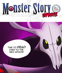 Monster Story 122-123 by CountDraggula
