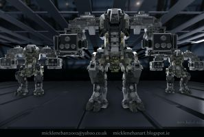 Mechs by Mick2006