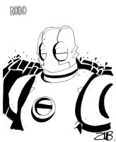 Con Sketch- Atomic Robo by Zubby