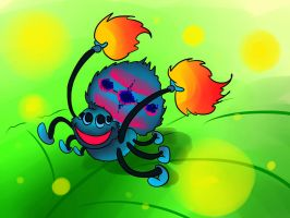 dancing spider by L-rj