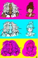 Dangan ronpa stufffff by uh--yeah