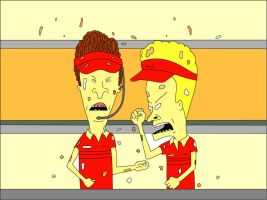 Beavis and Butthead by frietje-met