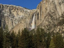 Morning Rainbow (Yosemite Falls) by Yosemite-Stories