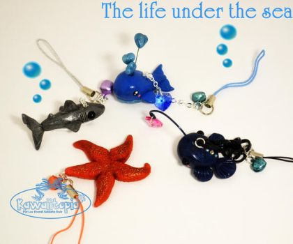 Kawaii life under the sea by Sarudanya
