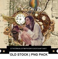 OLD STOCK PNG PACK by EthernalSymphony