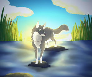 [COMM] Calm water by Heise-kun
