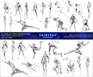 30 HUMAN POSE REFERENCES - PACK 17 by ERA-7