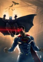 Batman Vs Superman by RaffoRamat