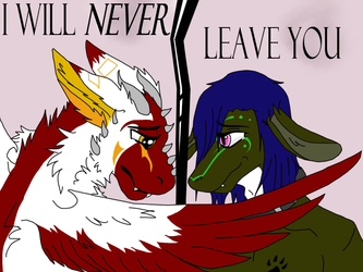 I will never leave you (Little gif) by TreyTheShiba