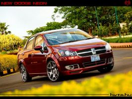 Dodge Neon Cocept by Emunem