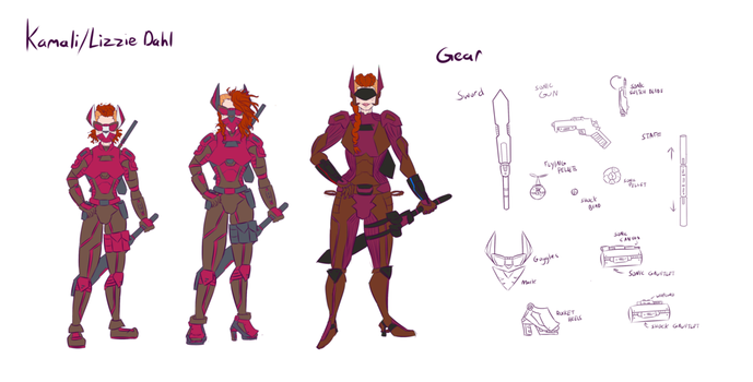Kamali Age Armor Concepts (ART BY SQUIRRELKITTY) by Foxy-Knight