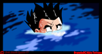 Yamcha in the water by Evil-Black-Sparx-77