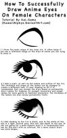 Eyes - Step-by-step Tutorial by KaiNoKimi
