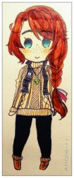outdoors outfit cheeb by Arione-rii