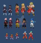 Previous/Current Commissions (extreme butoden) by DivineSprites
