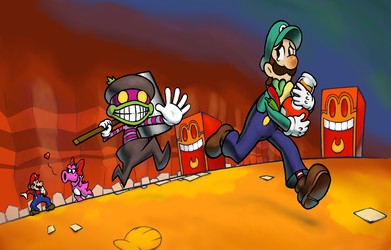 The Birdo and the Shadow Thief by DogmanSP