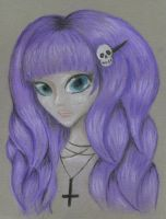 Pastel Goth by PixiRivets