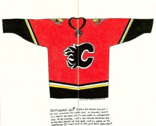 Calgary Flames Jersey by SuGaRLesSCaNdY
