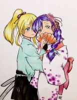 Nozoeli in traditional garb by gabrieluceroth