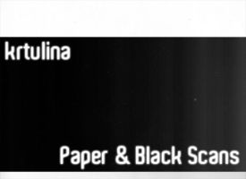 Paper And Black by krtulina