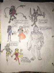 Hero  Villains ideas by brxdleymicromaker