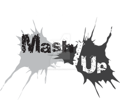 Mash/Up Grayscale Shirt Design 2 by UncertainSound