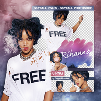 PNG PACK (100) Rihanna by iliveforApplause