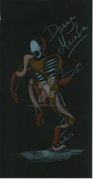 Macabre dance - Francis Bacon style by BarbyGFaba