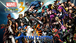 Marvel VS Capcom 3 Team Capcom by CrossDominatriX5