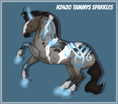 N2420 - Tammys Sparkles by fujoshiprincess