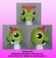 Caterpie hat by PokeMama