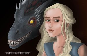 Mother of Dragons by LendermanAnimations