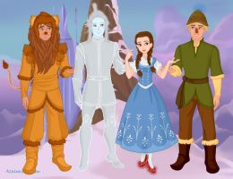 The Wizard of Oz by M-Mannering