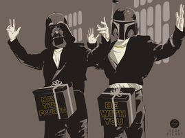Star Wars Day 2013 : In a Box by darthfilart
