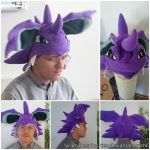 Nidoking Hat by lyramakesplushies